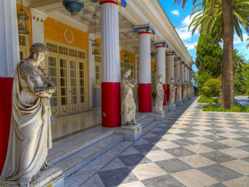 corfu Achillion Palace