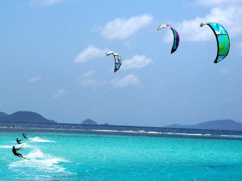 corfu kite surfing sailing greece