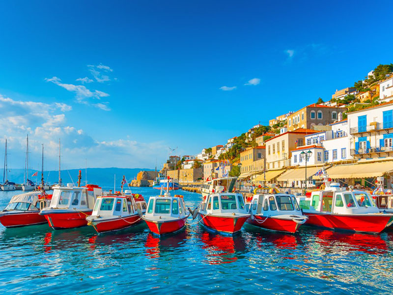 hydra sailing greece