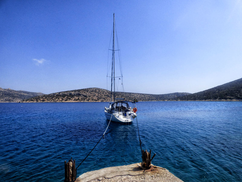 Sailing yacht Alimia Greece