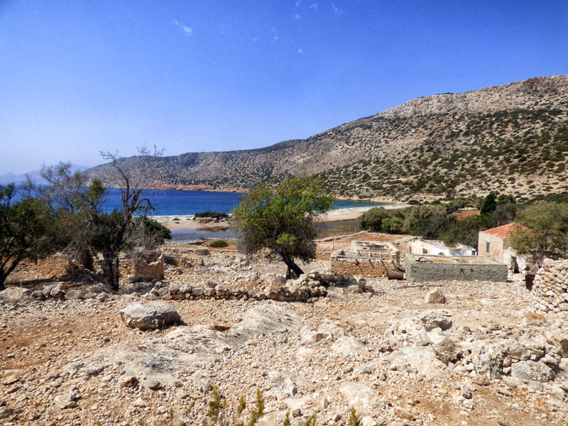Deserted island Alimia Greece
