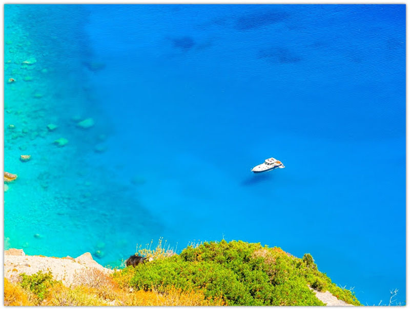 Bright & Colorful Amorgos, Greece