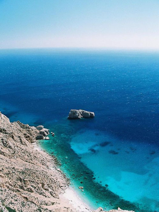 Amorgos blue water