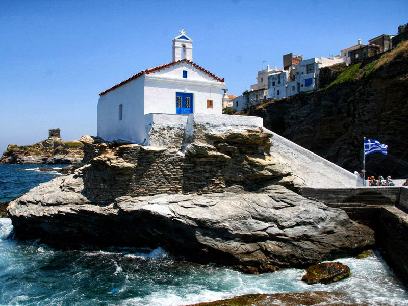 Hora – the main village of Andros