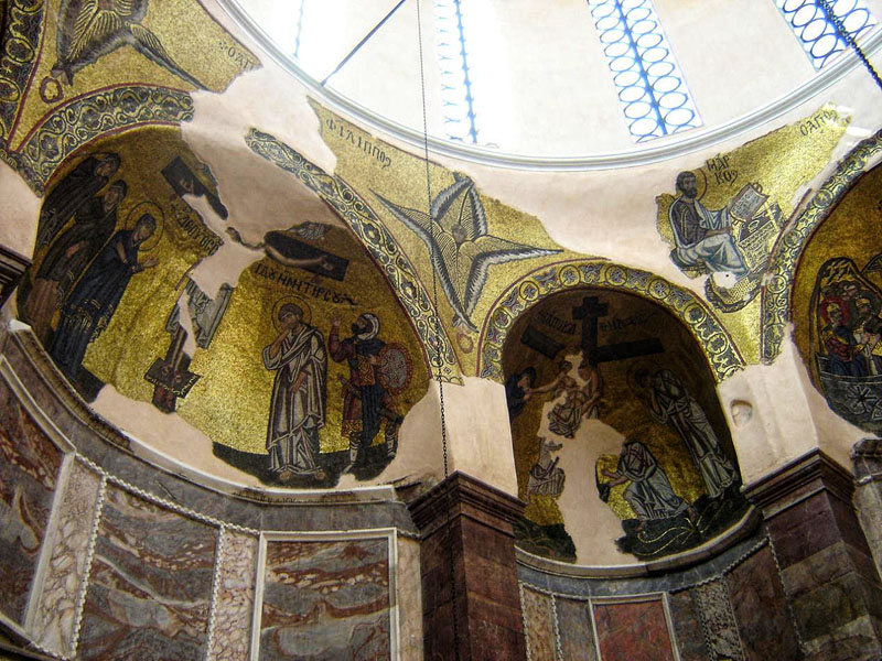 The mosaics of Nea Moni Monastery, Chios