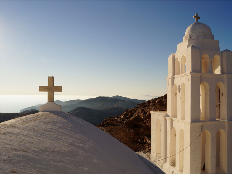 Folegandros The Panaghia church