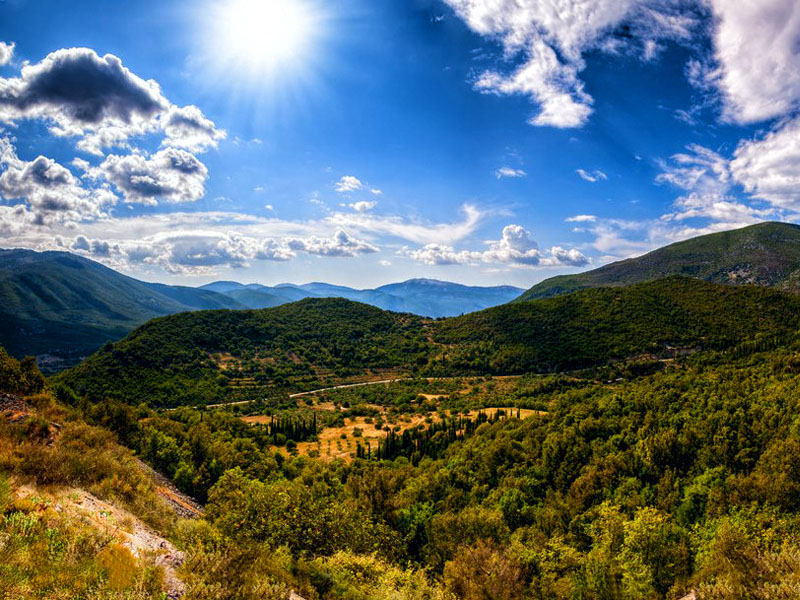 Mount Enos – the 'Black Mountain' Kefalonia