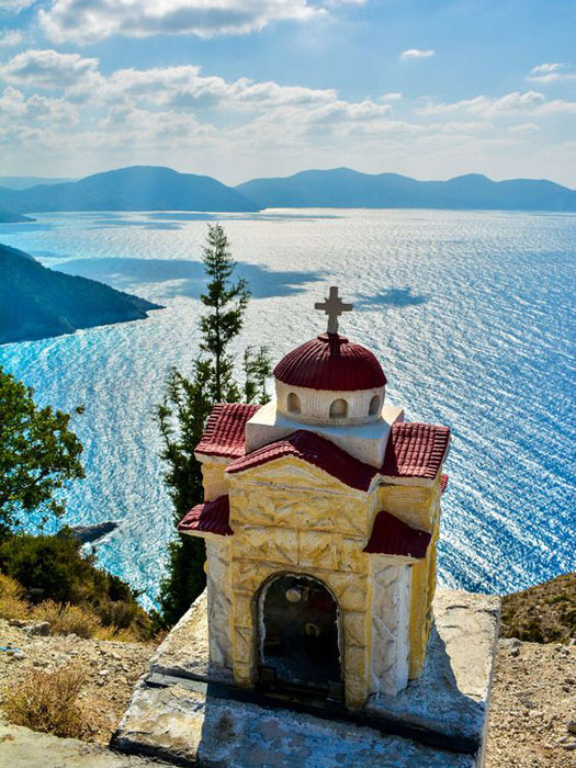 kefalonia small chapel