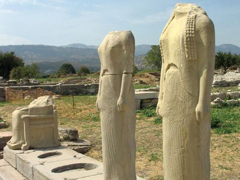 Temple of Hera samos-greece