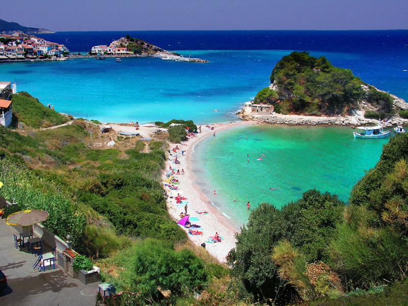 samos-greece beautiful bay