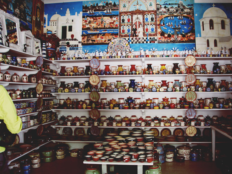 Sifnos pottery store