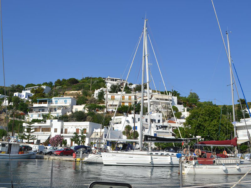 Skyros harbour